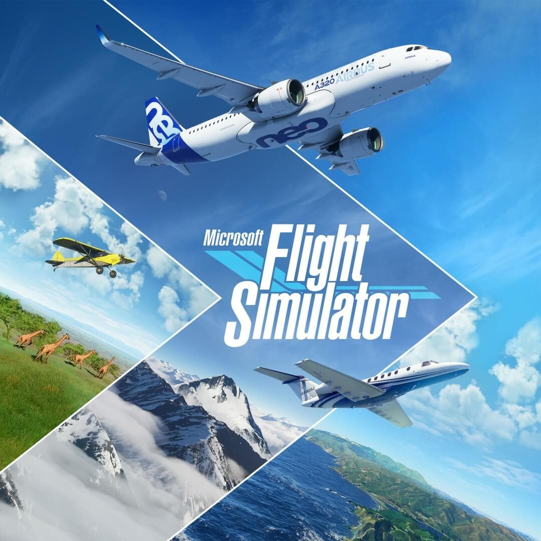 Flight Simulator Key Art