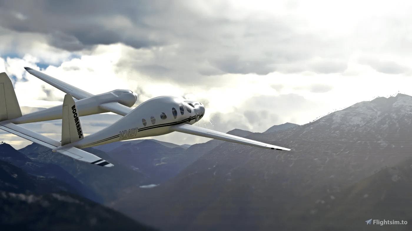 Rutan Model 202 Boomerang