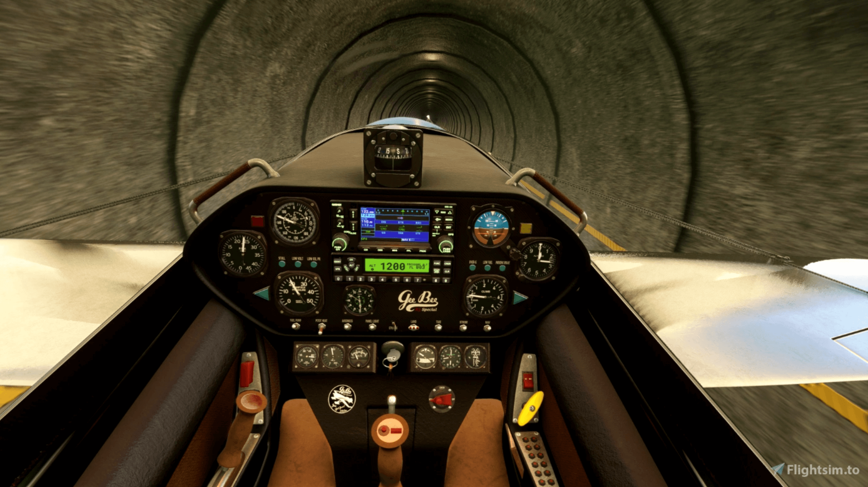 Cockpit of Edgley Optica