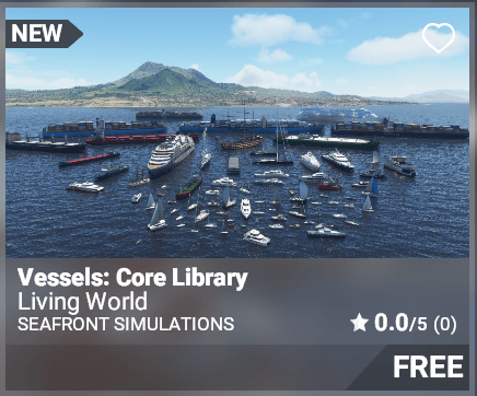 Vessels: Core Library - Seafront Simulations