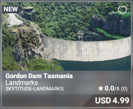Gordon Dam Tasmania