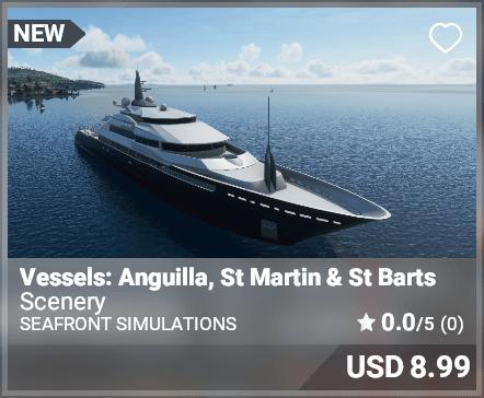 Vessels: Anguilla, St Martin and St Barts