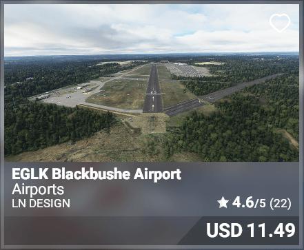 EGLK Blackbushe Airport