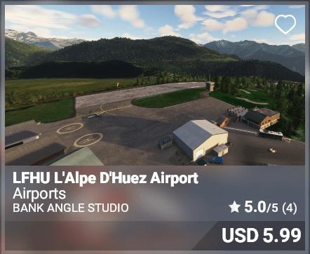 LFHU L'Alpe D'Huez Airport