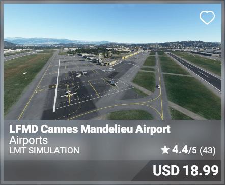 LFMD Cannes Mandelieu Airport