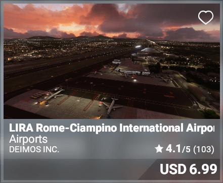 LIRA Rome-Ciampino International Airport