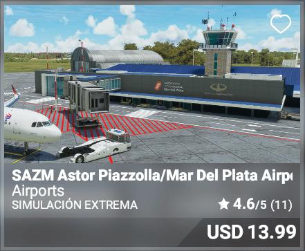 SAZM Astor Piazolla/Mar Del Plata Airport