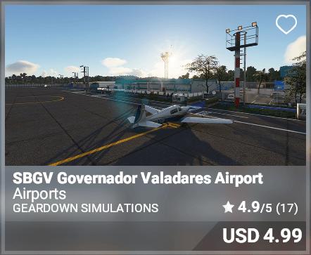 SBGV Governado Valadares Airport