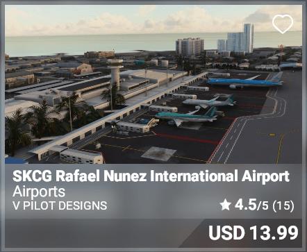SKCG Rafael Nunez International Airport