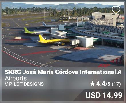 SKRG Jose Maria Cordova International Airport