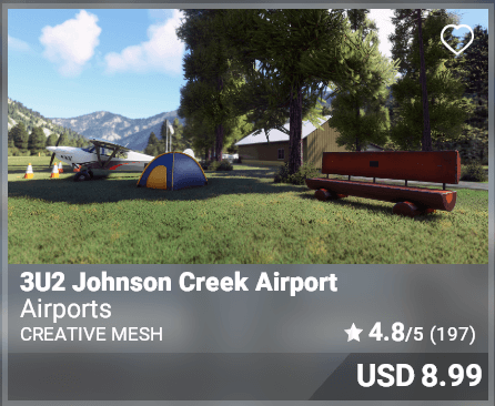 3U2 Johnson Creek Airport