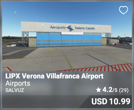 LIPX Verona Villafranca Airport