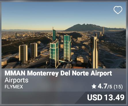 MMAN Monterrey Norte Airport