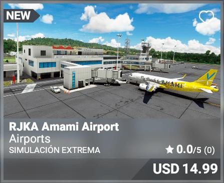 RJKA Amami Airport