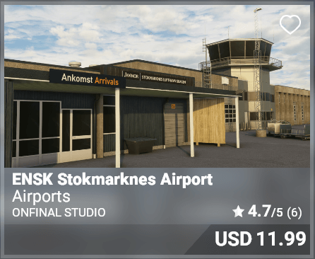 ENSK Stokmarknes Airport