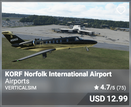 KORF Norfolk International Airport