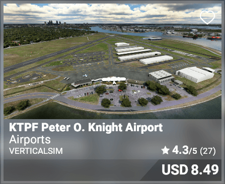 KTPF Peter O. Knight Airport