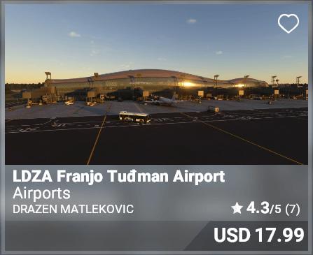LDZA Franjo Tuđman Airport