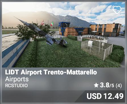 LIDT Airport Trento-Mattarello