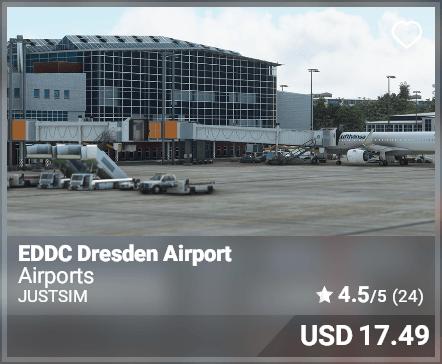 EDDC Dresden Airport - JustSim
