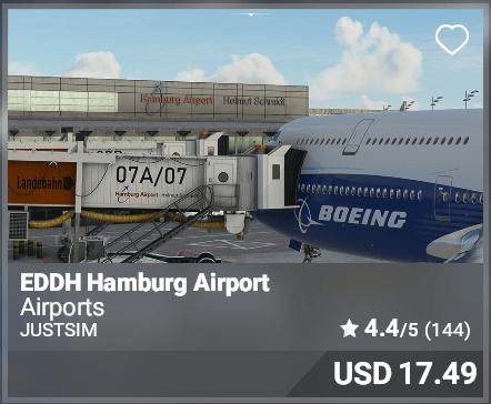 EDDH Hamburg Airport - JustSim