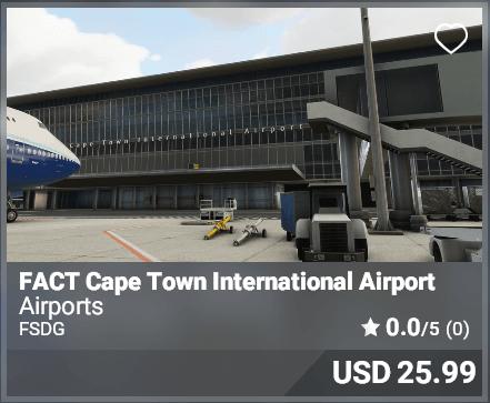FACT Cape Town International Airport - FSDG