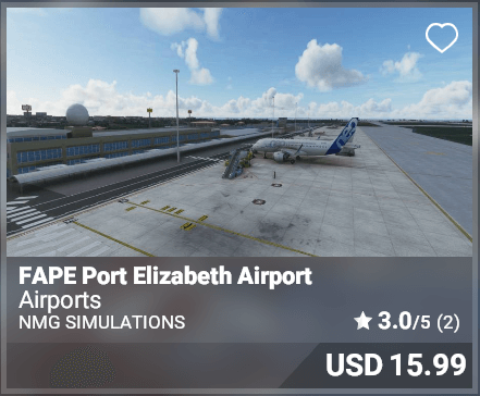 FAPE Port Elizabeth Airport - NMG Simulations