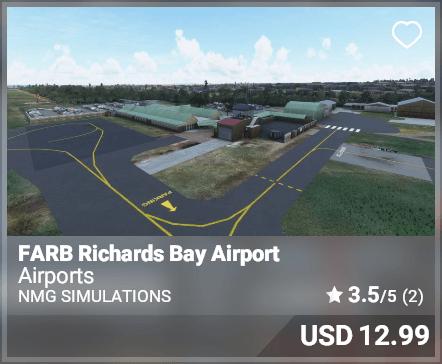 FARB Richards Bay Airport - NMG Simulations