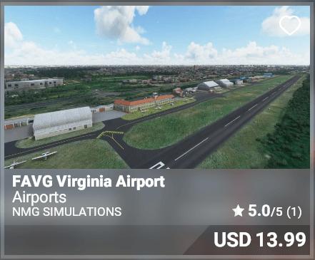 FAVG Virginia Airport - NMG Simulations