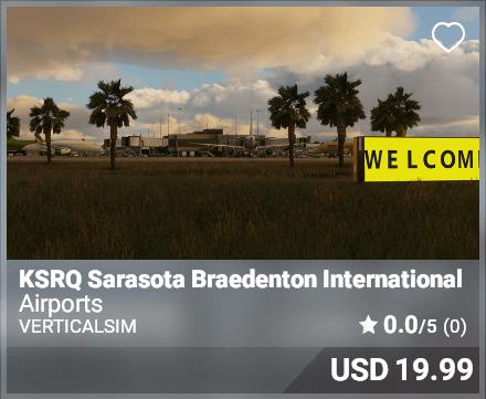KSRQ Sarasota Bradenton International - VerticalSim
