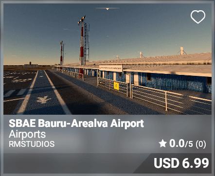SBAE Nauru-Arealva Airport - RMStudios