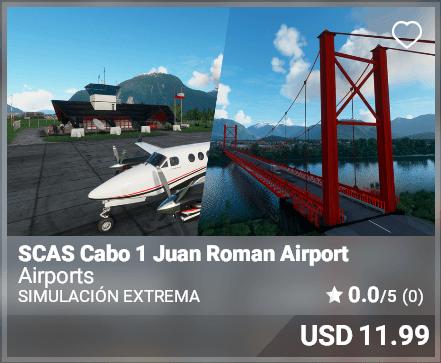 SCAS Cabo 1 Juan Roman Airport - Simulacion Extrema