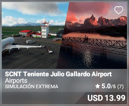 SCNT Teniente Julio Gallardo Airport - Simulacion Extrema