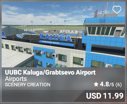 UUBC Kaluga/Grabtsevo Airport - Scenery Creation