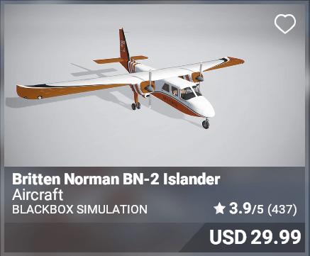 Britten Norman BN-2 Islander - Blackbox Simulation