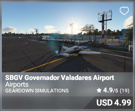 SBGV Governador Valadares Airport