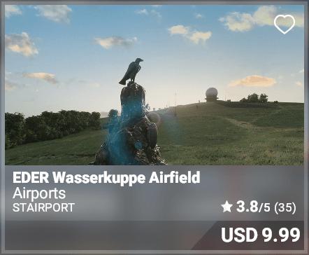 EDER Wasserkuppe Airfield - Stairport